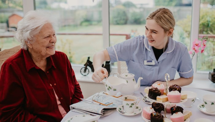 Activities in Blenheim Care Home