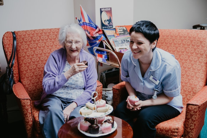 Dementia care in our care and nursing home